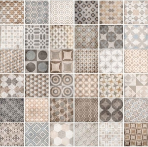 Cotto Tuscania Basic Decoro Mix 20x20
