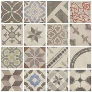 Cotto Tuscania Carociment Mix 20x20
